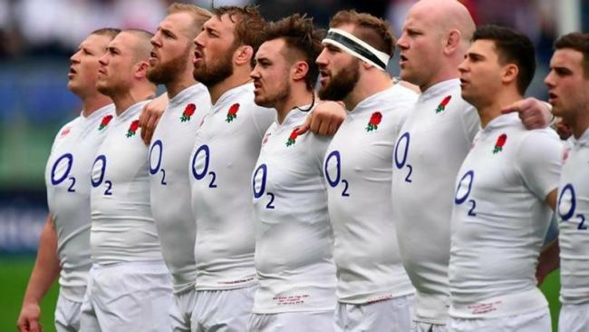 Top England rugby players and their stats