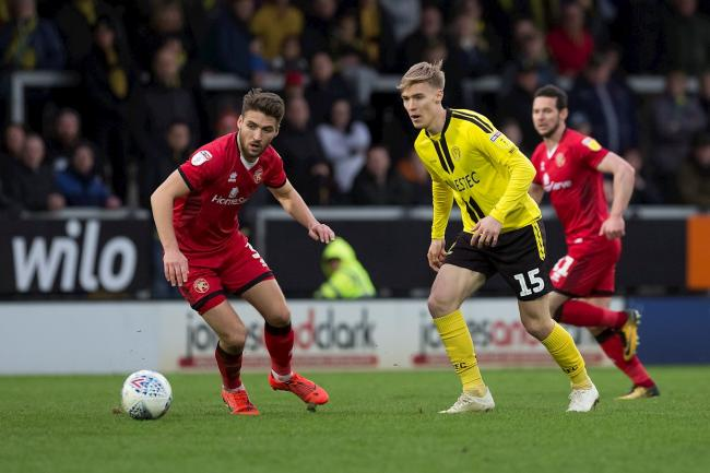 Alex Bradley in action during his loan spell at Burton Albion. Picture: BURTON ALBION FOOTBALL CLUB