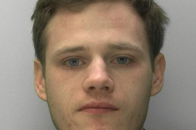 KNIFE: Moreton-in-Marsh man Anthony Smith. Picture: Gloucestershire Constabulary