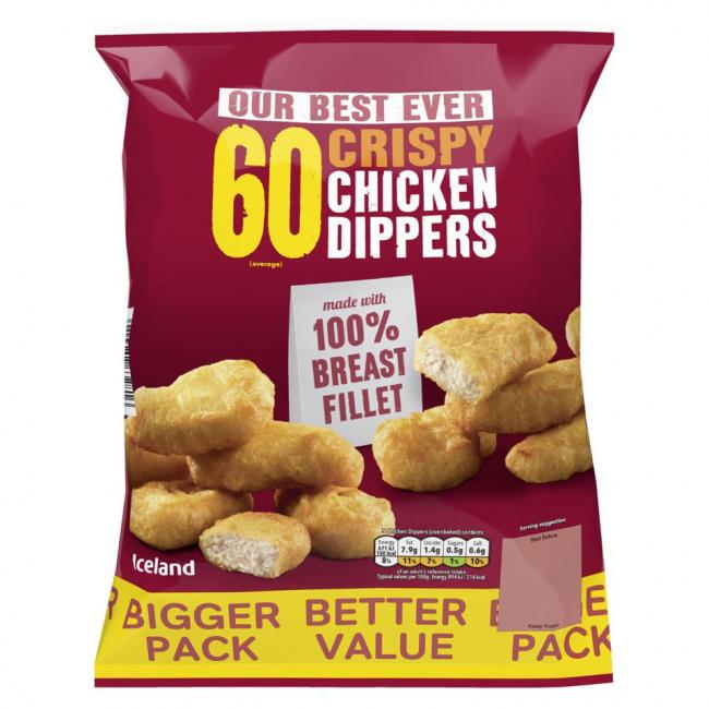Iceland 60 Crispy Chicken Dippers