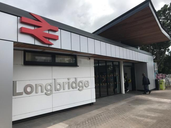 A £1.7 revamp of Longbridge station is now complete