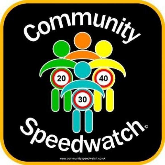 The community speedwatch team centred their efforts on the A4117 this week.
