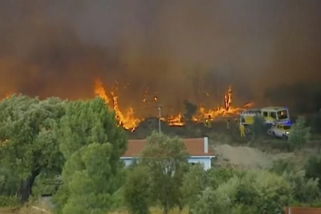 Portugal Wildfires