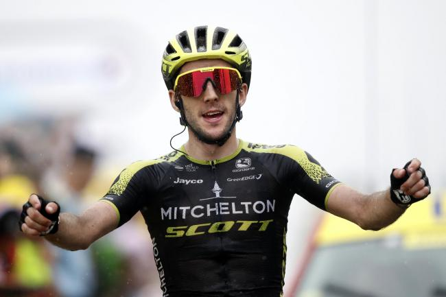 Simon Yates took his second stage win of this year's Tour de France