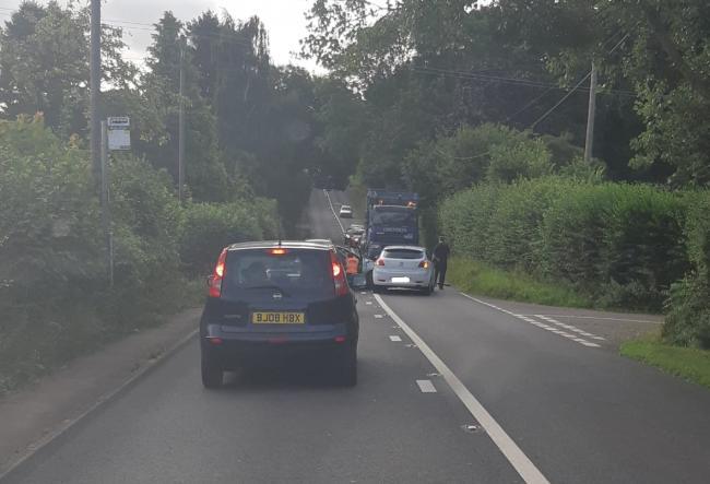 Two Car Crash Blocks Road Ledbury Reporter