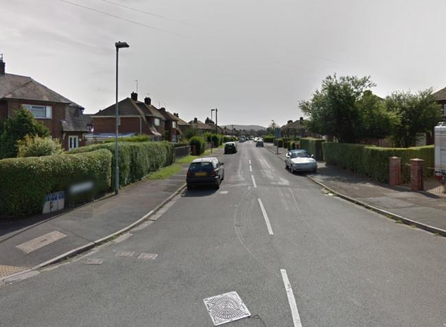 The attack happened in the Hinton Avenue/King George Playing Fields area of Hereford. Picture: Google