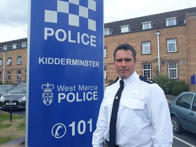 Wyre Forest Police's new Safer Neighbourhood Team inspector David King
