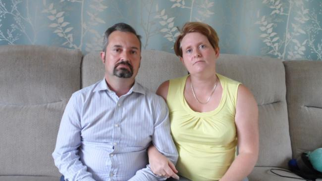 Jason and Jenny Horton have been swindled out of £13,000 by a motorhome scam.