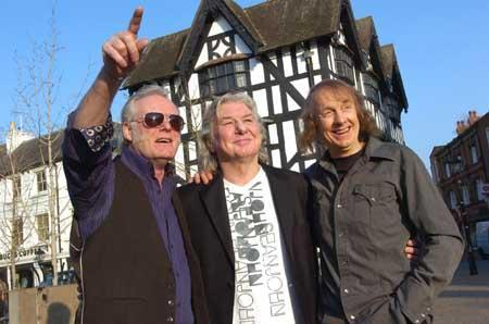 Martin Chambers (second left) is organising a show in the city to celebrate the lives of two of his former band mates.