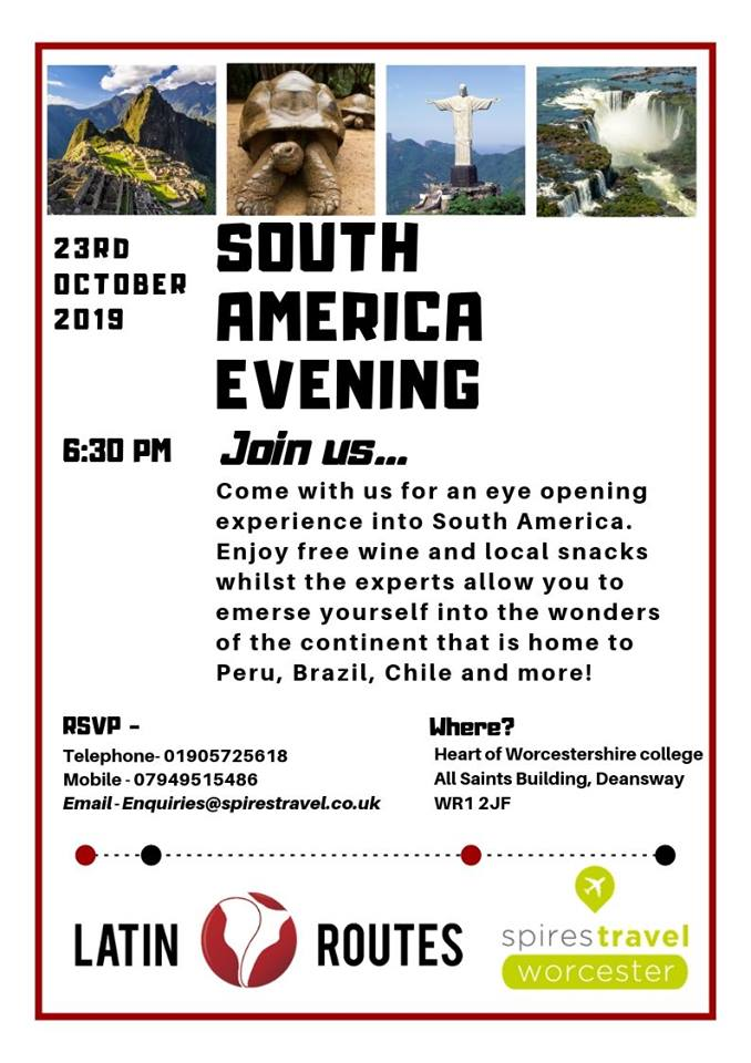 South America Evening Talk
