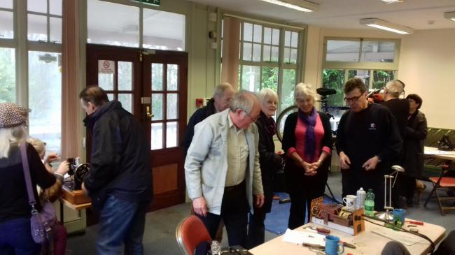 The Sustainability Centre will host events and workshops such as this Repair Café run at Queenswood in 2018
