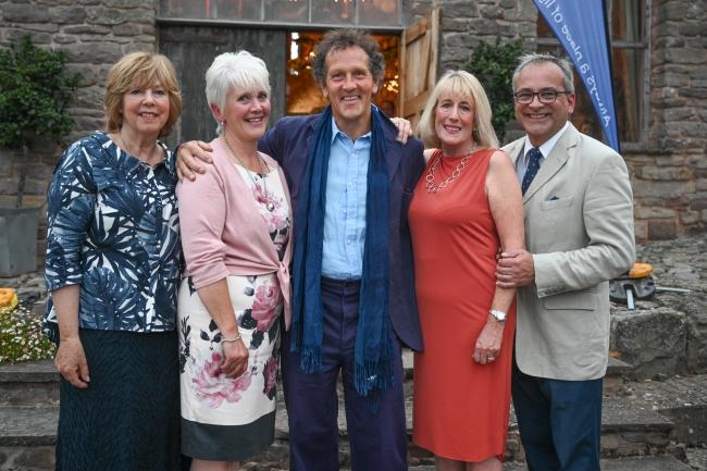 Monty Don was part of St Michael's Hospice Flower Show. Photo: St Michael's Hospice