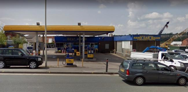 Lye Service Station in Dudley Road, Stourbridge. PIC: Google Street View