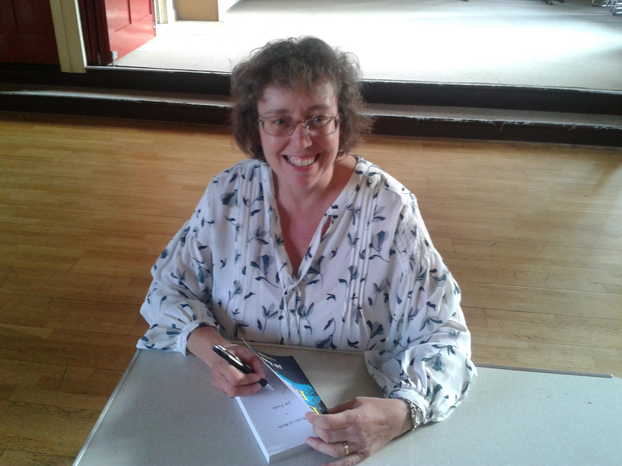 Author signing event at WHSmith in Great Malvern
