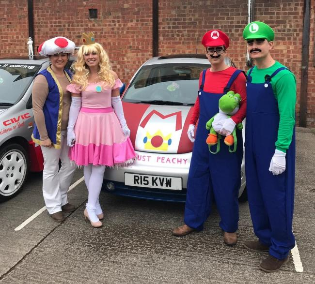 Annabel Hull, Emme Raynsford, Mark Carter and Ryan Stewart from Harrison Clark Rickerby solicitors raised money for charity by taking on a challenge that took them to Europe.