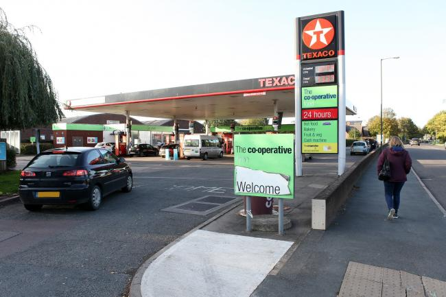The petrol station in Holmer Road is set to undergo a £1.75m refurbishment. Picture: Rob Davies.