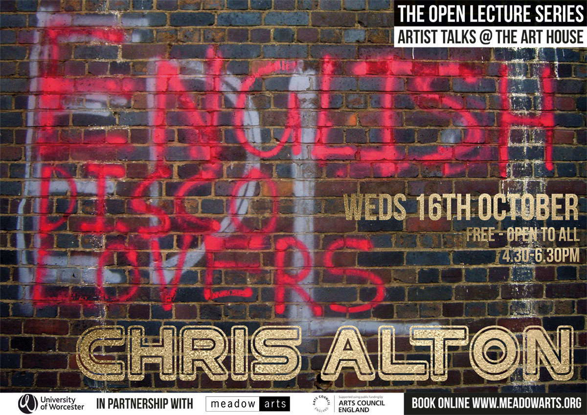 Chris Alton - Art House Open Lecture
