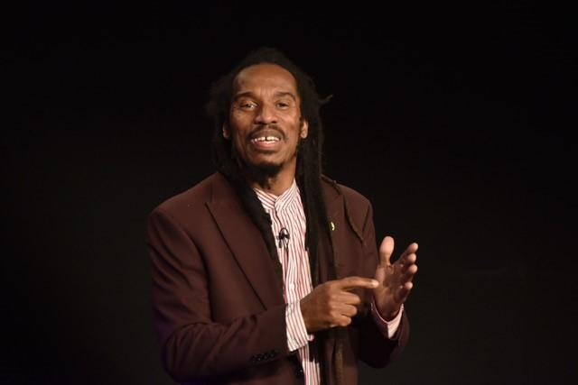 Benjamin Zephaniah at Bewdley Festival. PIC: Colin Hill