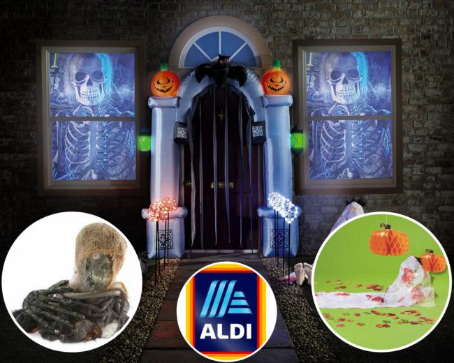 Aldi bans Halloween products from middle aisle for 'being too scary'
