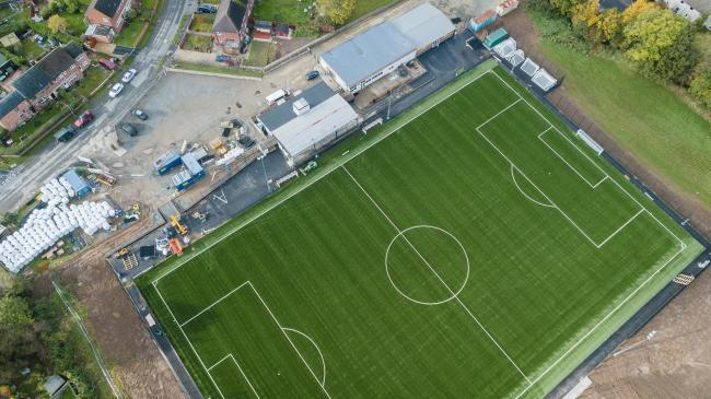The HDanywhere Community Stadium. Picture: MALVERN TOWN FC
