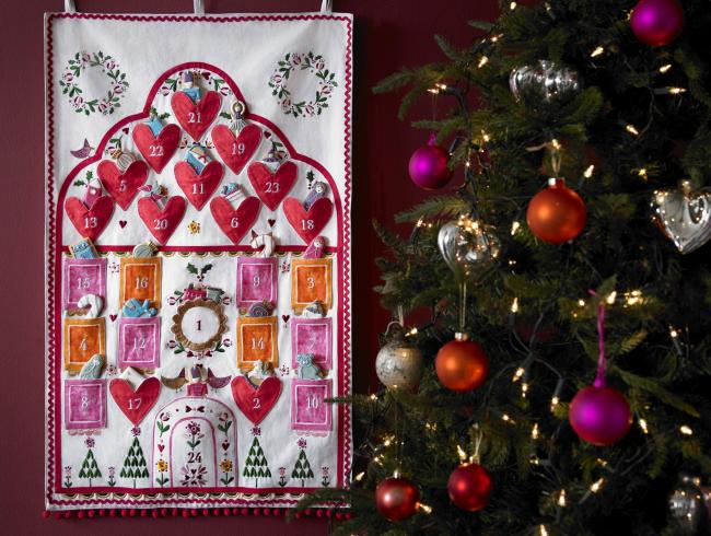 Undated Handout Photo of Biscuiteers' advent calendar. See PA Feature CHRISTMAS Advent. Picture credit should read: PA Photo/Handout. WARNING: This picture must only be used to accompany PA Feature CHRISTMAS Advent.