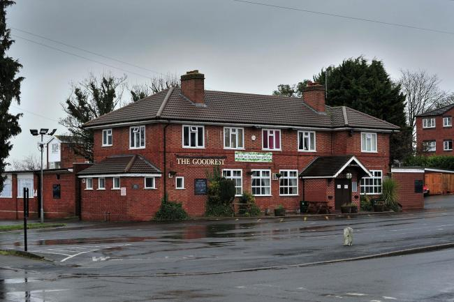 PUB: The Goodrest Tavern, Rainbow Hill, Worcester. Pic Jonathan Barry