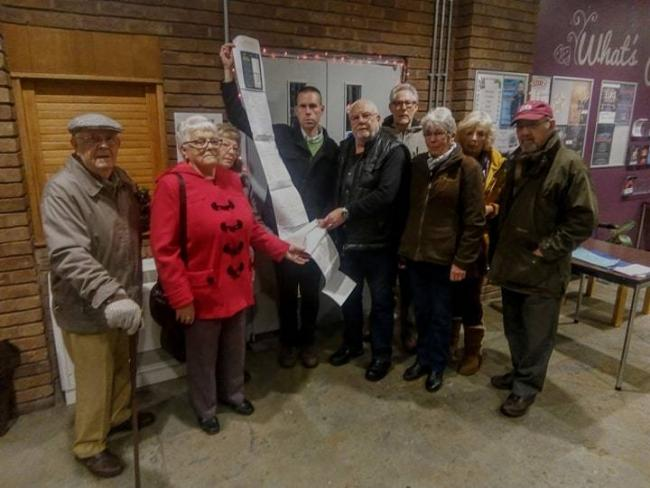 Residents of Areley Kings have signed a petition against plans to develop new homes in the area