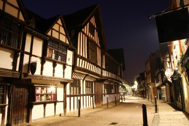 BEAUTIFUL: Greyfriars in Friar Street, Worcester, surely one of the finest streets in England