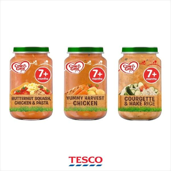 Tesco recalls baby food after concerns a number of jars have been tampered with