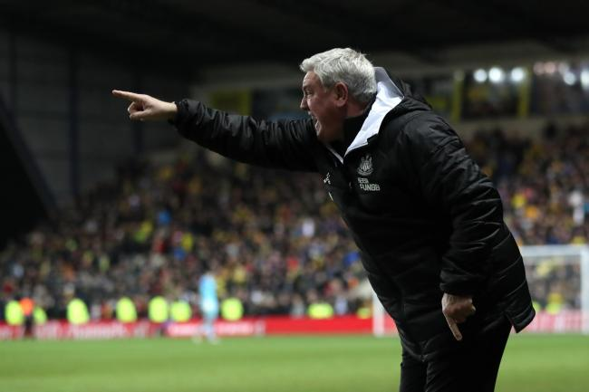 Newcastle head coach Steve Bruce did not expect to be level on points with Arsenal after 25 games