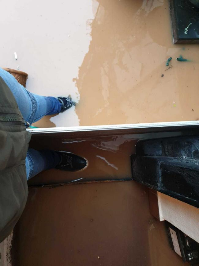 Bewdley resident Michael Allarton was made homeless after his ground floor flat flooded