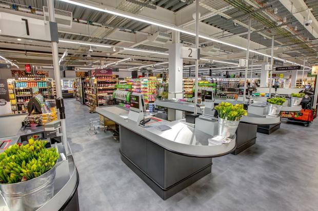 Ledbury Reporter: MARKS AND SPENCER: Inside an M&S Foodhall. Picture: Marks and Spencer