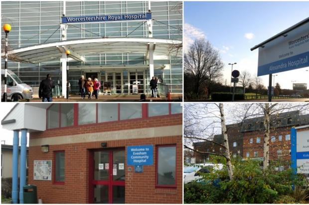 Hospitals in Worcestershire
