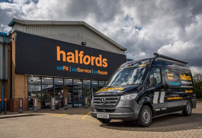 Halfords, which has their headquarters in Redditch, has recieved funds to help them through the coronavirus pandemic PIC: Tim Andrew