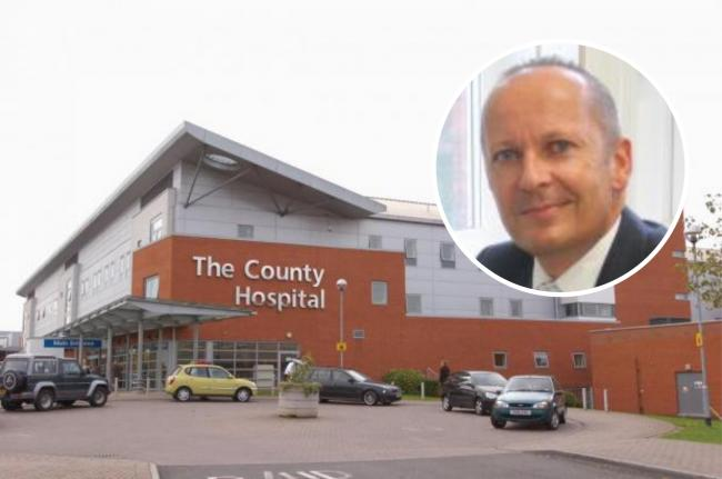 Hereford health workers praised for reducing number of avoidable deaths. Inset: Chief executive Glen Burley