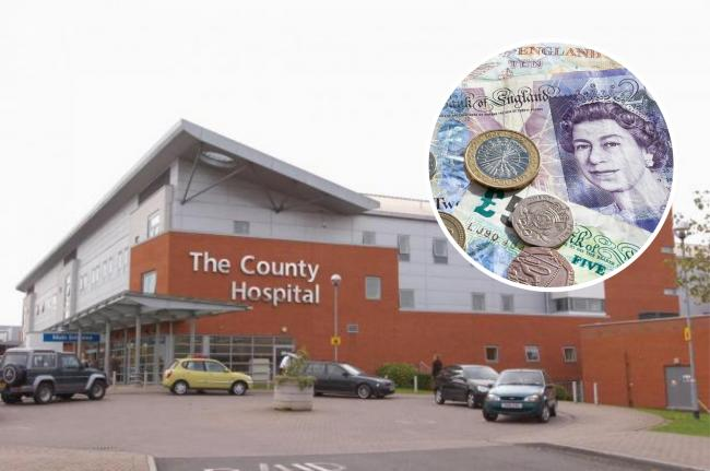 Hereford hospital trust praised for financial performance