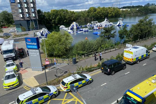 Missing boy at Police searching for a missing teenager at a lake by Lakeside Shopping Centre in Thurrock said a body has been found (Essex Police/PA)Shopping Centre