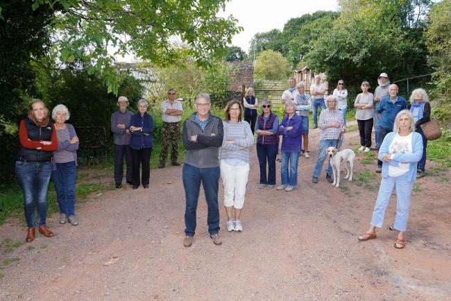 Villagers put forward plans for educational centre at Herefordshire nature reserve