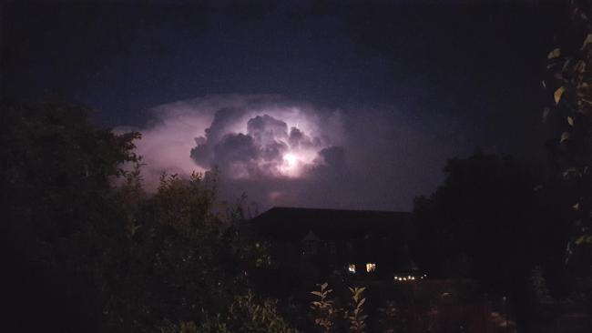 Lightning Storm on night of 11/08/20 in Leominster