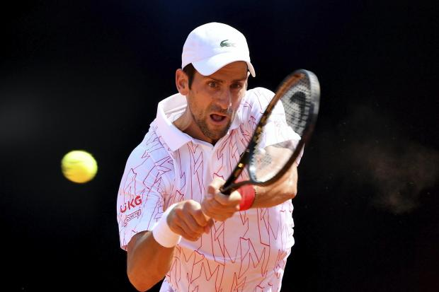 Novak Djokovic has won four of the five tournaments he has played in 2020