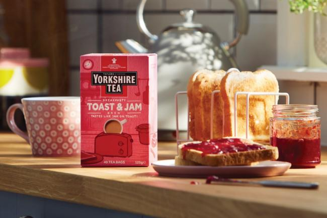 Would you give it a try? Yorkshire Tea launch new Jam and Toast blend of brew. Picture: Yorkshire Tea