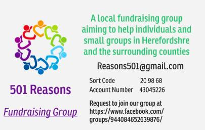 501 Reasons Hereford Community Fundraising Group