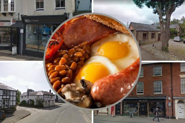 Best breakfasts in Herefordshire