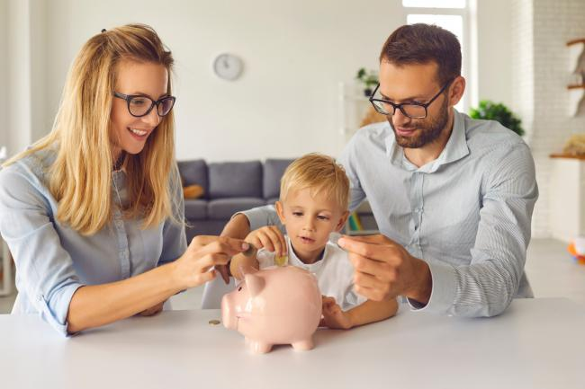 Child Benefit payments will go up in April - how much will you receive? (Canva)
