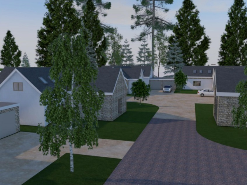 Five new homes with 'best technology' could be built near Herefordshire town