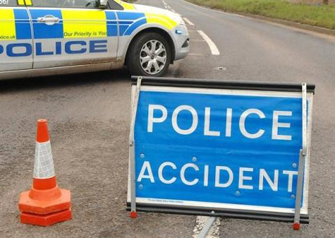 Woman dies in A449 crash