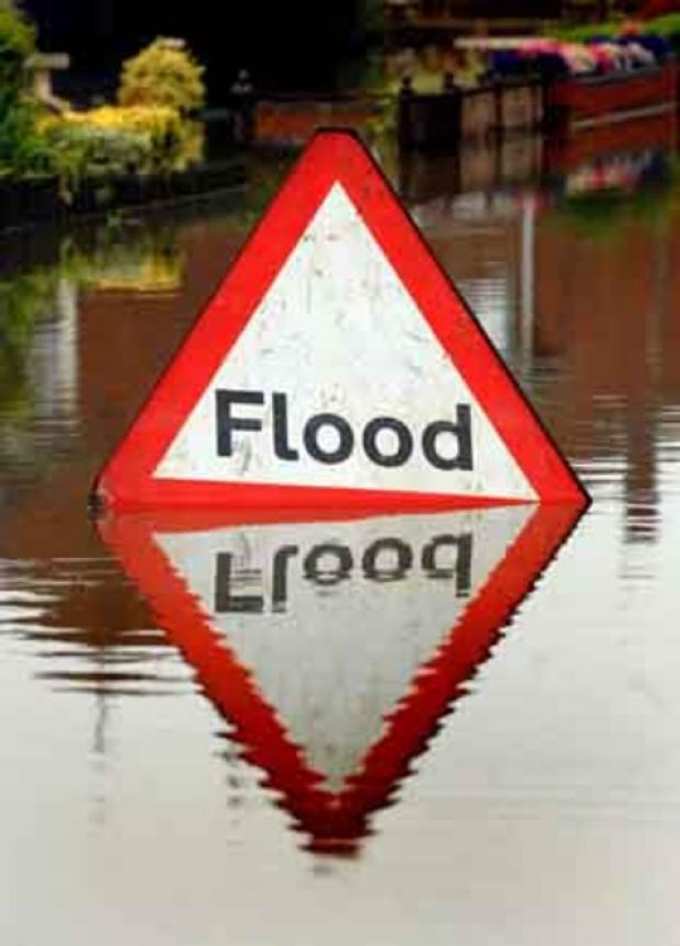 Fire service responds to 80 flood incidents