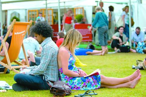 Ledbury Reporter: Book lovers ready for Hay Festival