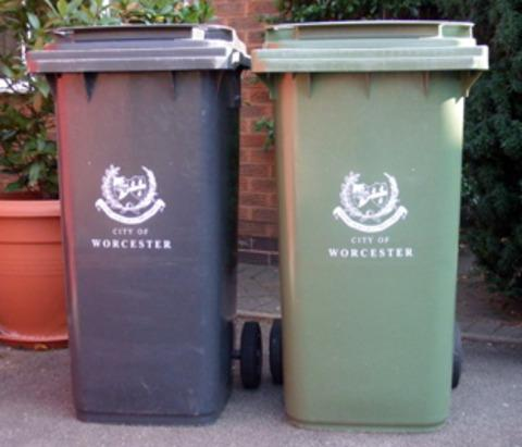 Resounding no to wheelie bins