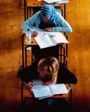 Pupils all set for GCSE exam resit